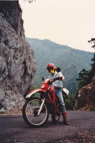 1984年:MTX125Rで四国一周ツーリング