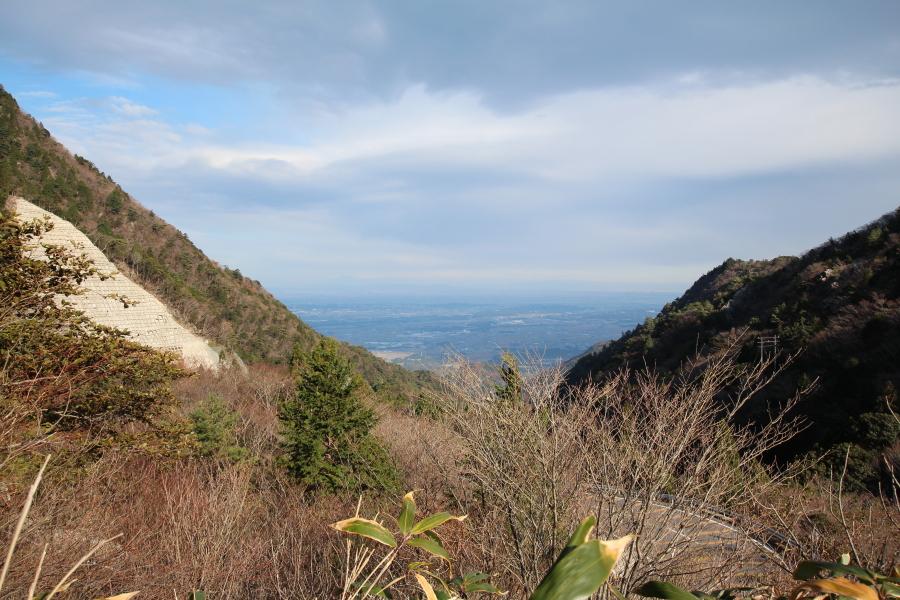 武平峠の眺望