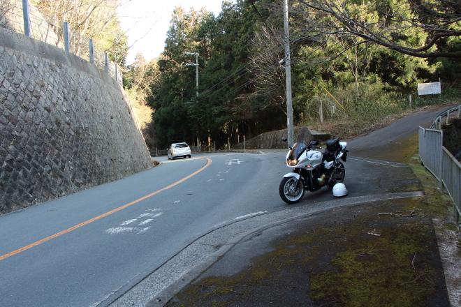堀越峠の全景