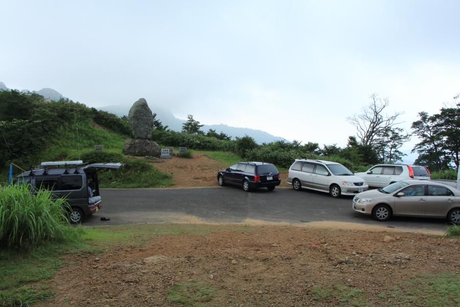 冠山峠の全景
