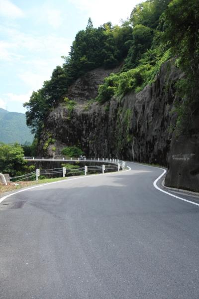 岐阜県道40号の南方方向