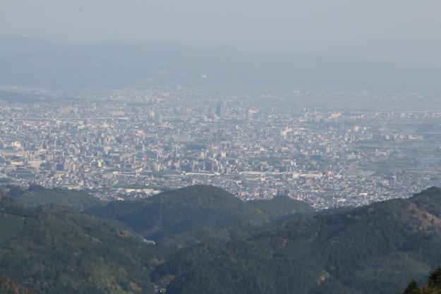 松尾峠からの眺望