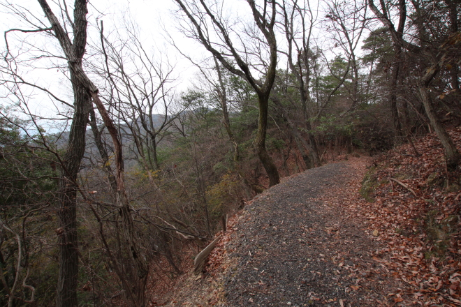 長坂峠の旧道