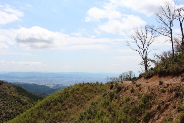 サカサマ峠から、西方の風景