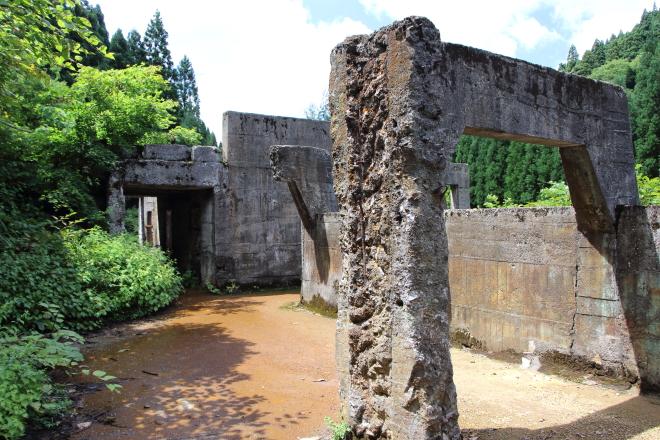 土倉鉱山跡の写真2