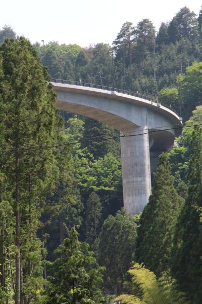 巨大なループ橋