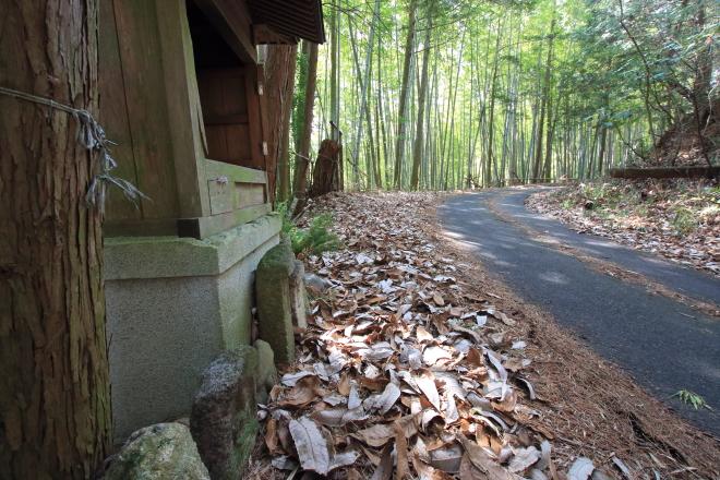 仏坂峠のお地蔵さま