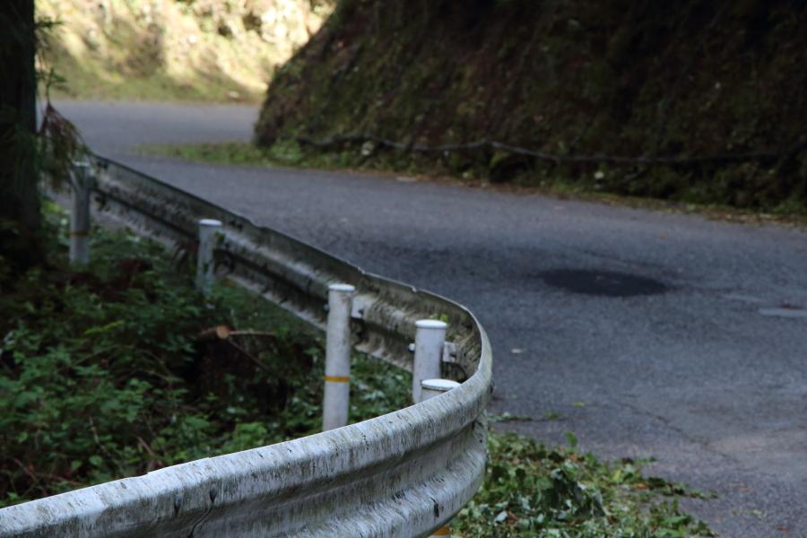 徳島県の倉羅峠