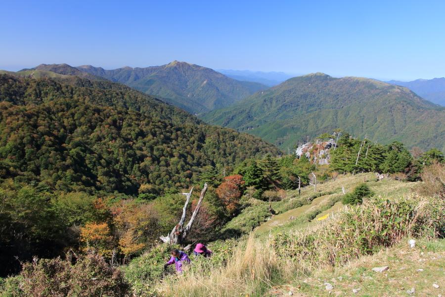 見ノ越・剣山