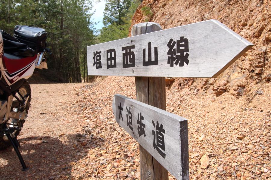 大迫歩道・塩田西山線