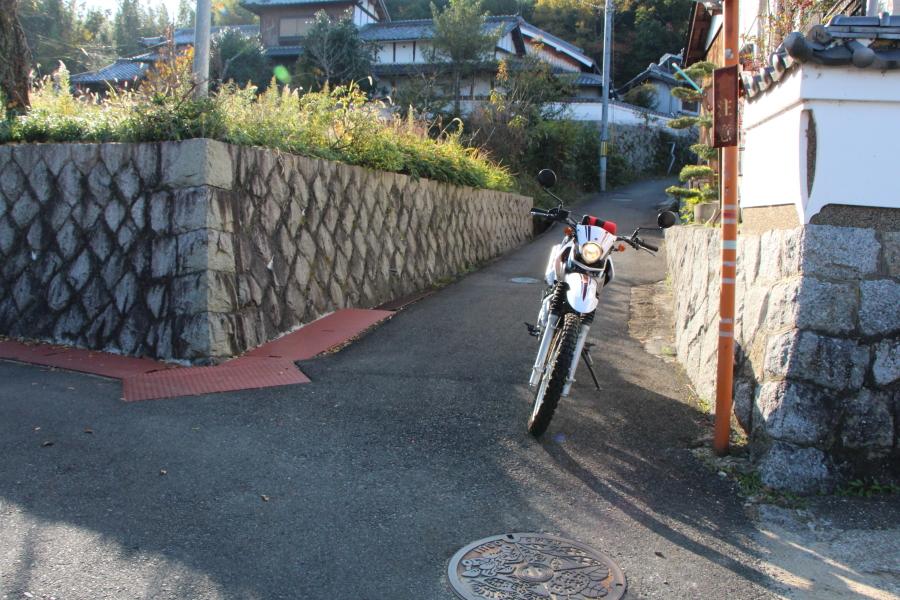 観音寺峠を抜ける