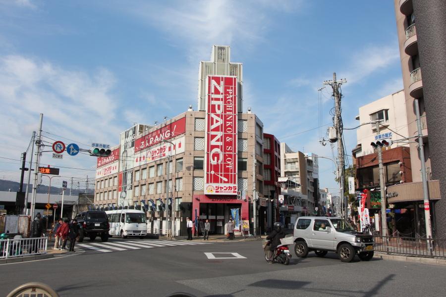 京街道の入り口