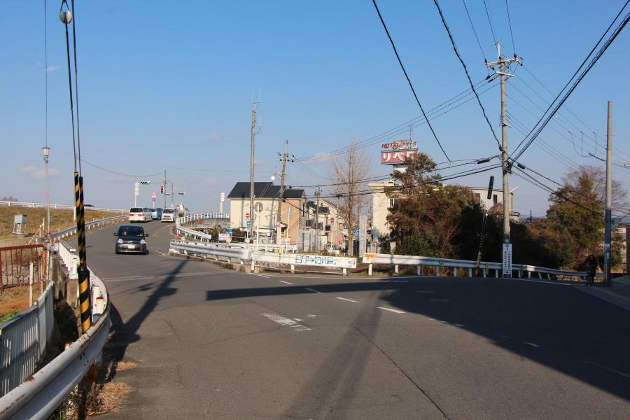 京街道の分岐