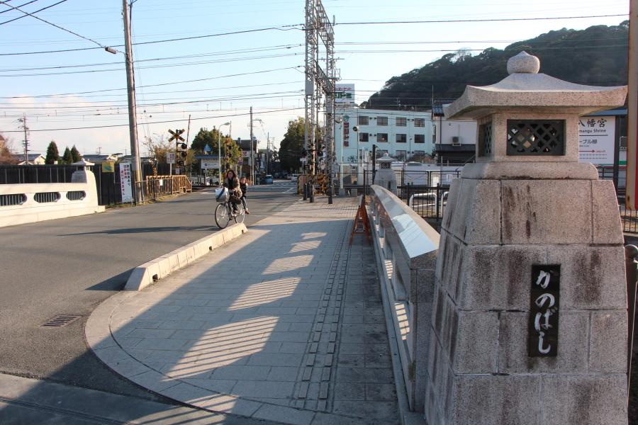 八幡市駅前の橋