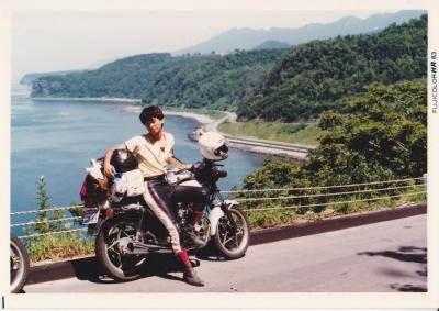 1983年:GSX250で北海道一周ツーリング