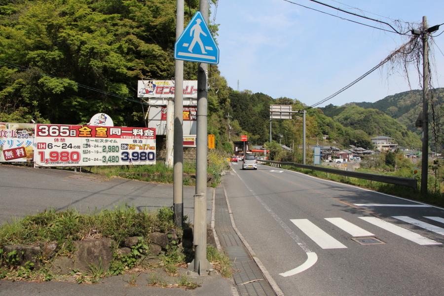 国道163号(伊賀街道「笠置街道」)