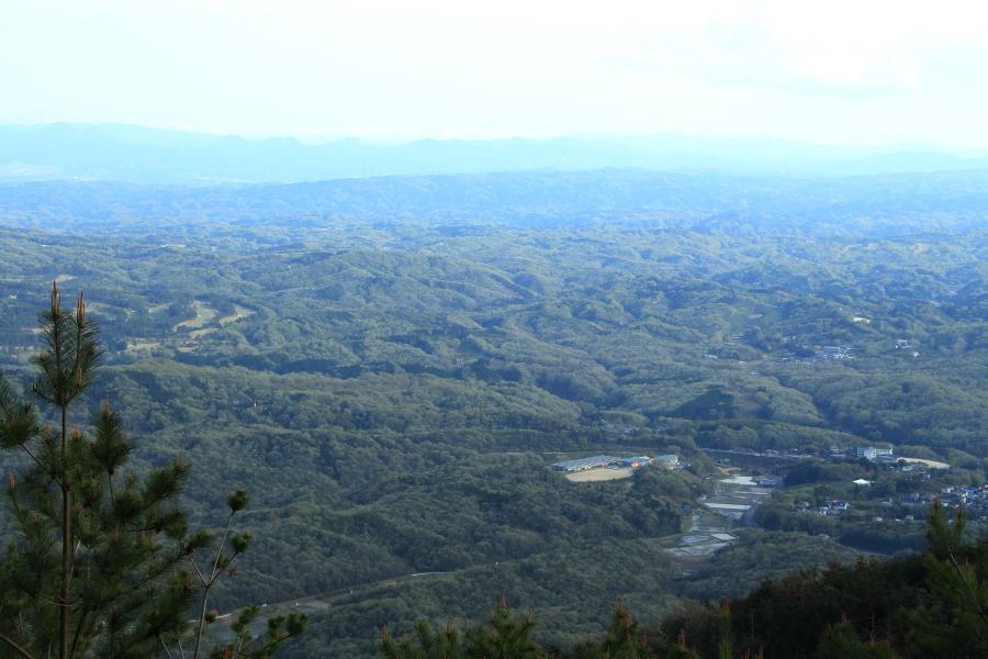 三国越展望台からの風景
