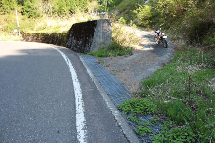 堀越峠への別ルート