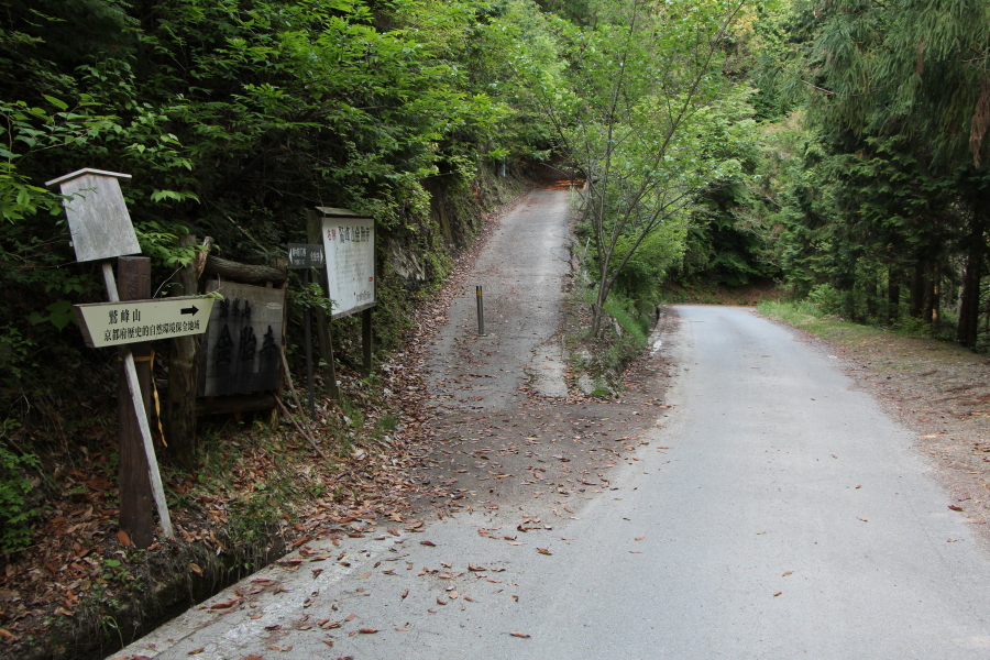 金胎寺への参道
