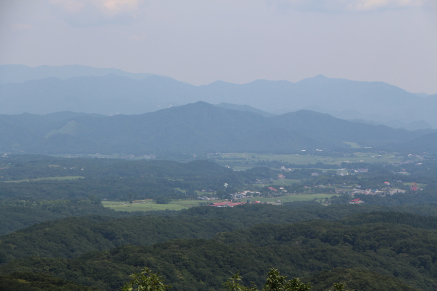 蒜山高原の風景