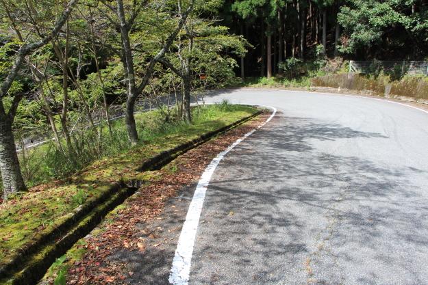 寺坂峠の佐用町側
