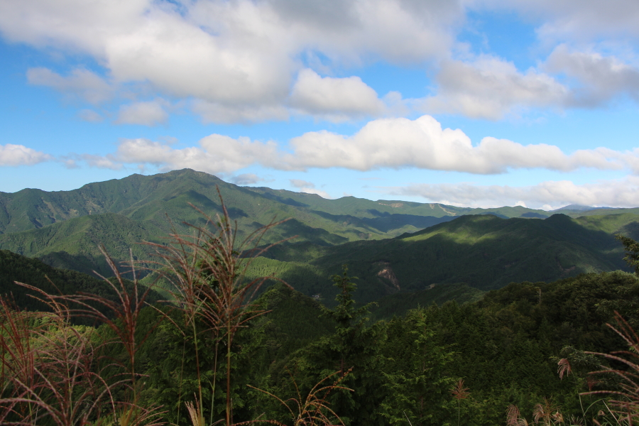 カンカケ越の眺望