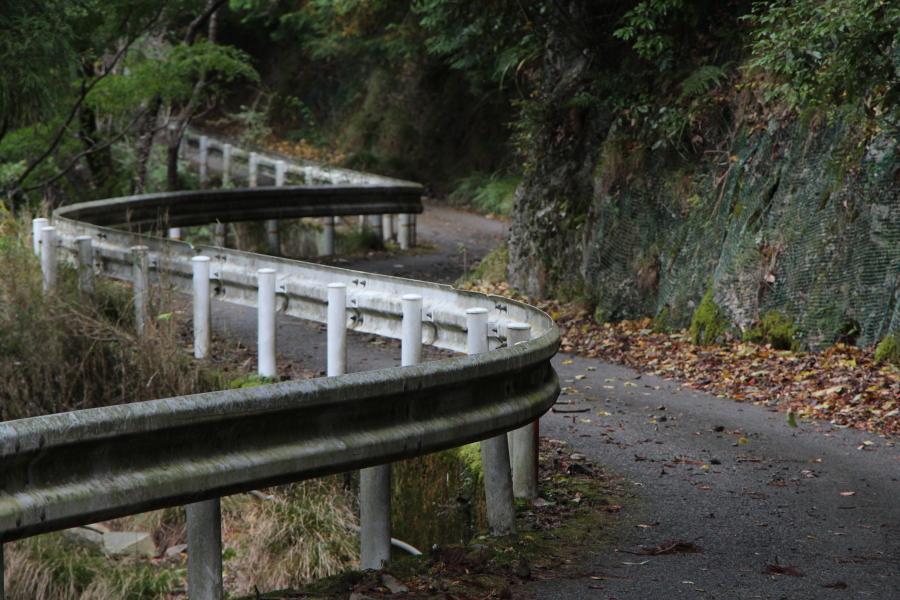 松尾谷林道