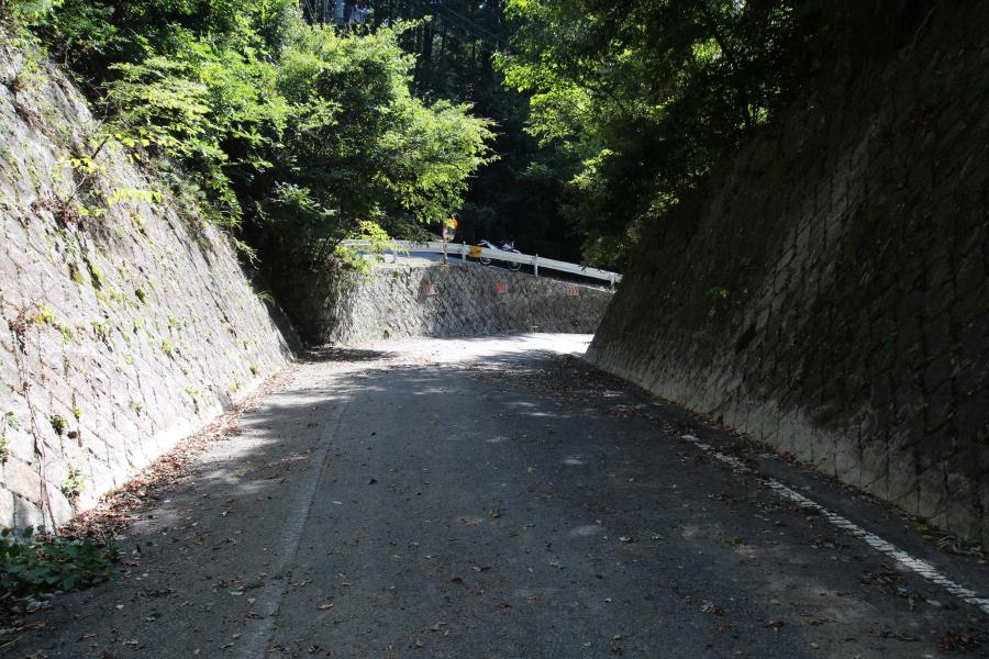 南側の路面