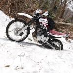 黒河峠/残雪の林道黒河マキノ線と峠越えの楽しみ方
